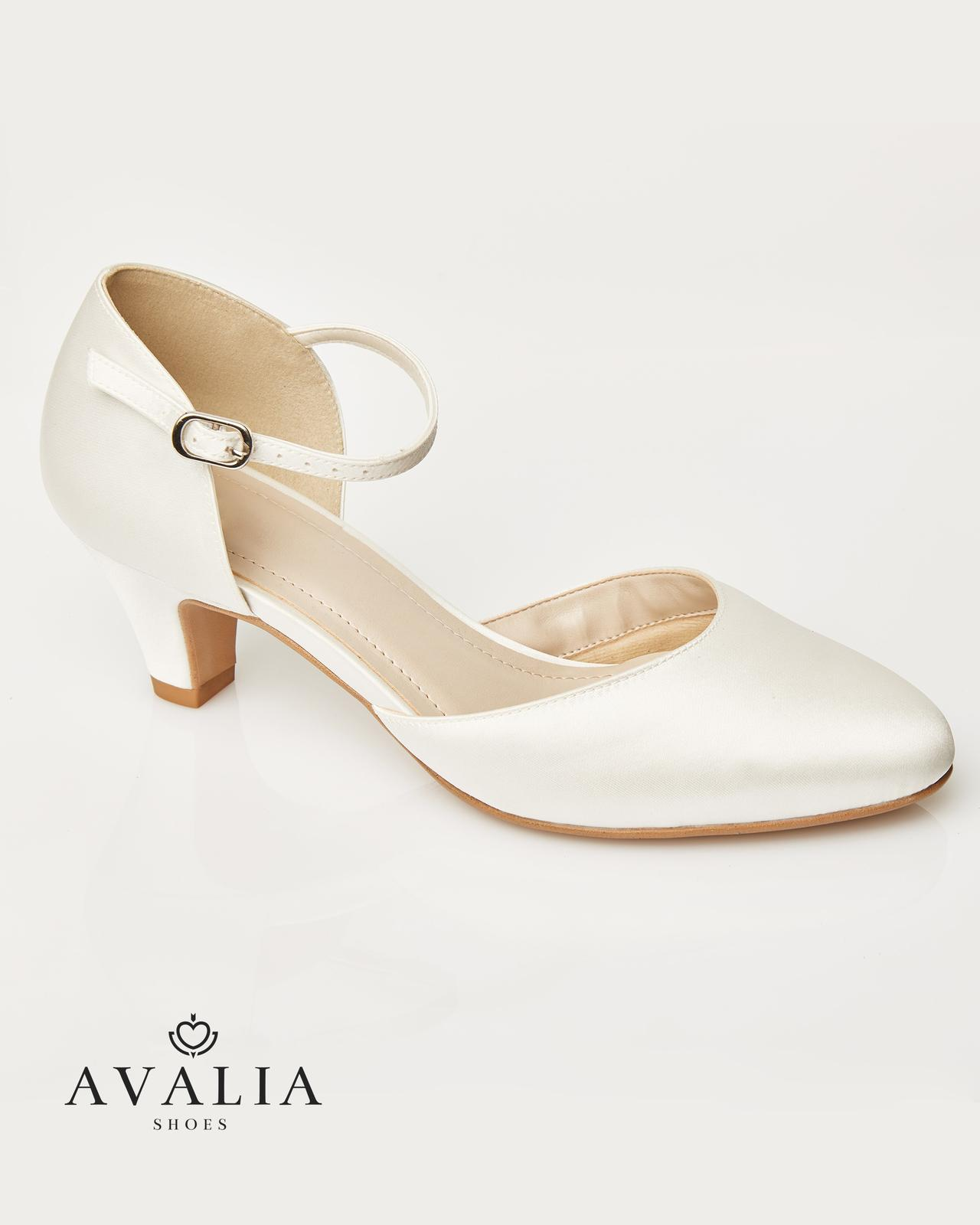 Svadobné topánky Gina - Obrázok č. 1