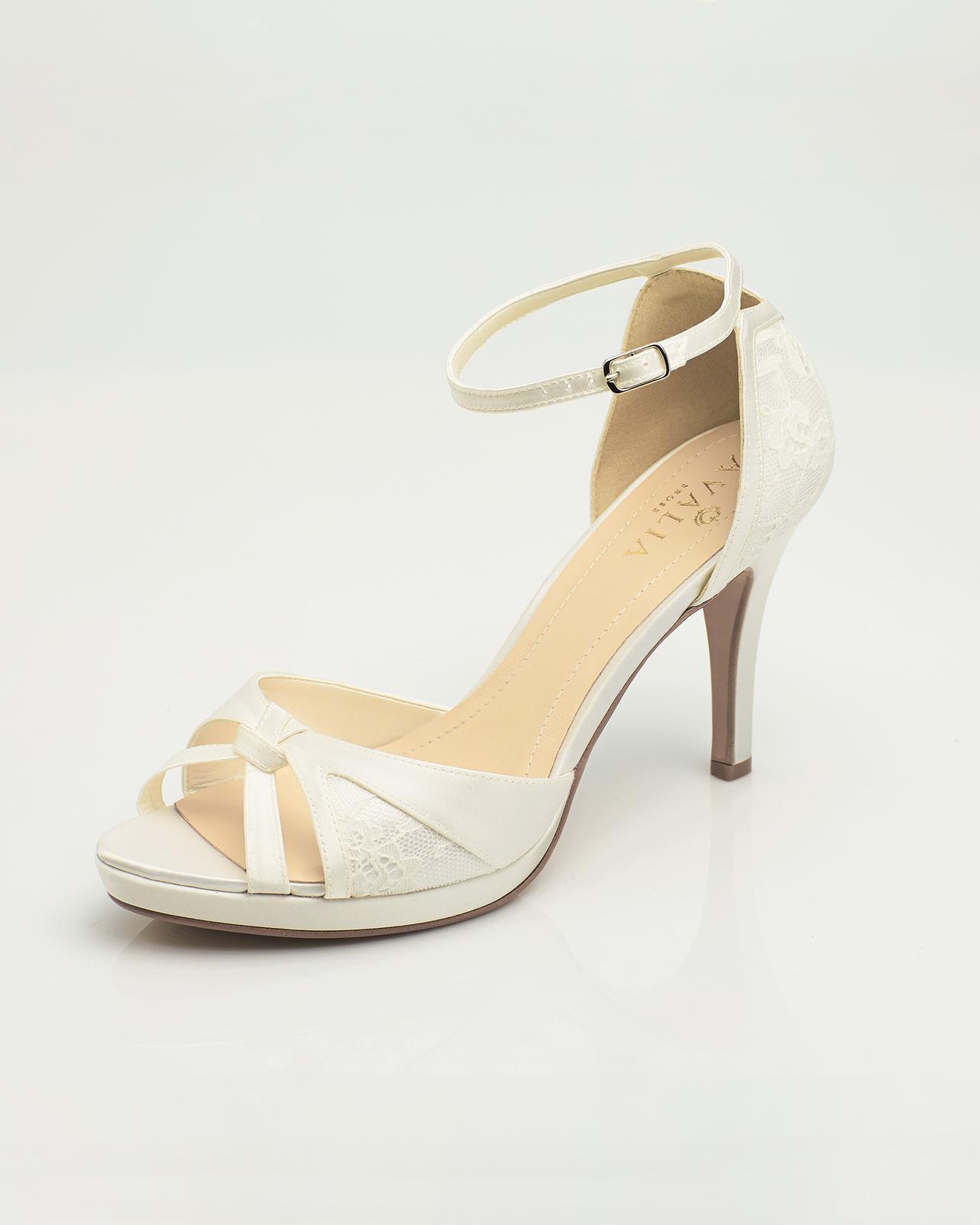Svadobné topánky Alba - Obrázok č. 1