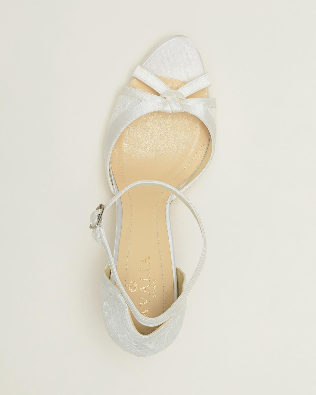 Svadobné topánky Alba - Obrázok č. 3