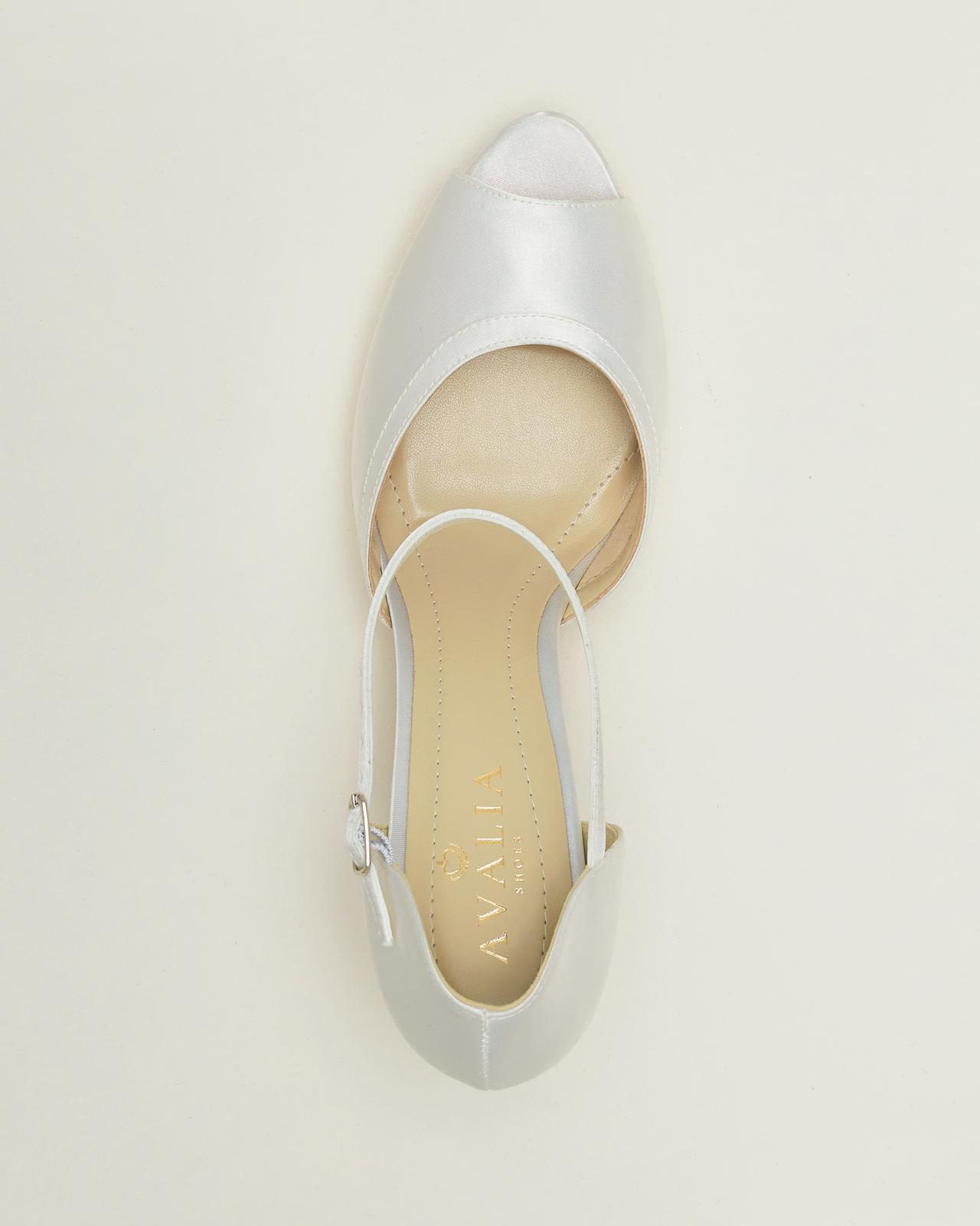 Svadobné topánky Ines - Obrázok č. 3