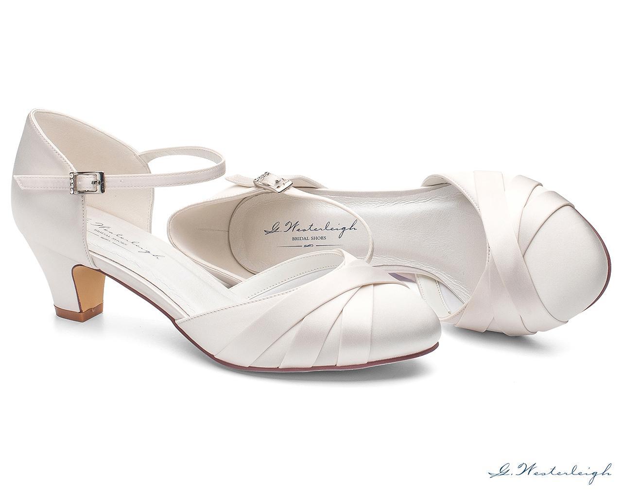 Svadobné topánky Blanca - Obrázok č. 2