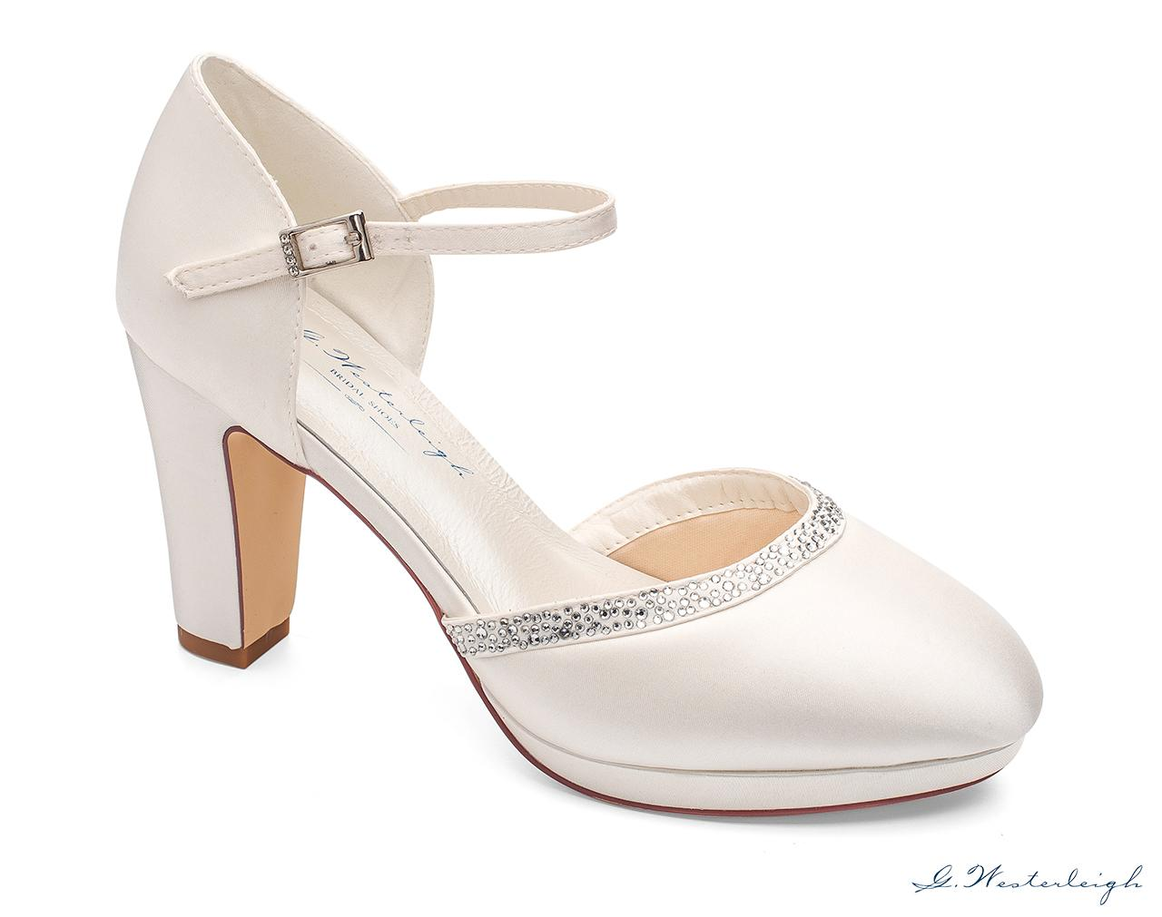 Svadobné topánky Gabrielle - Obrázok č. 1