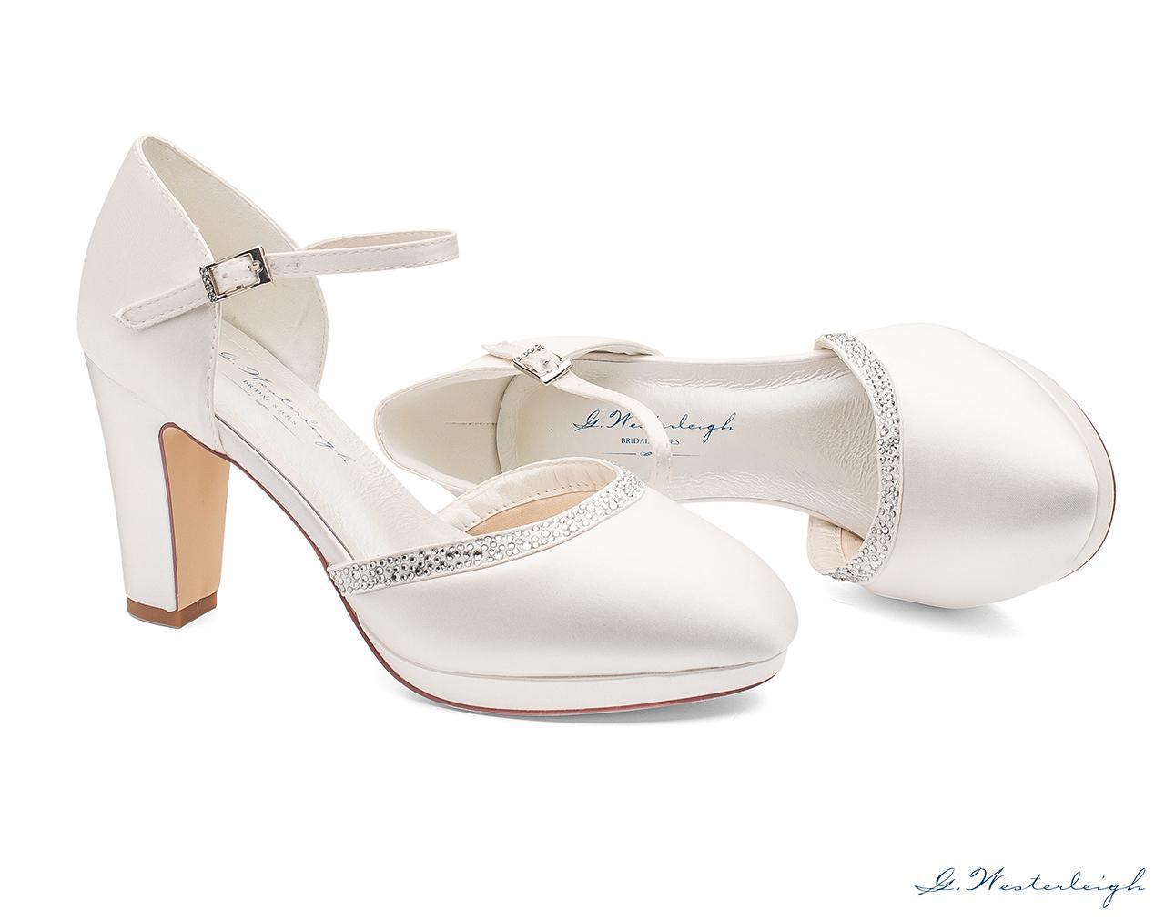 Svadobné topánky Gabrielle - Obrázok č. 2
