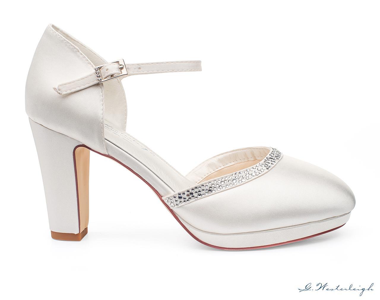 Svadobné topánky Gabrielle - Obrázok č. 3