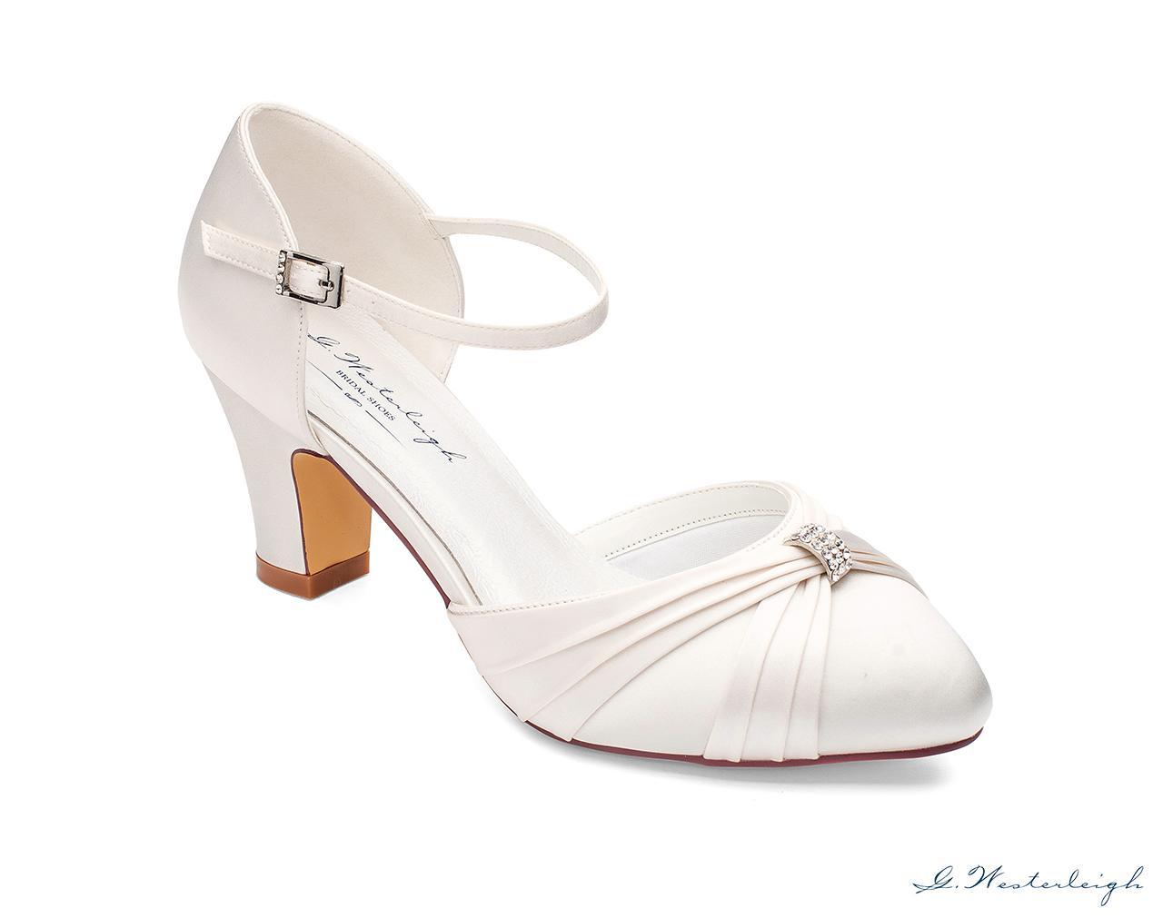 Svadobné topánky Luciana - Obrázok č. 1