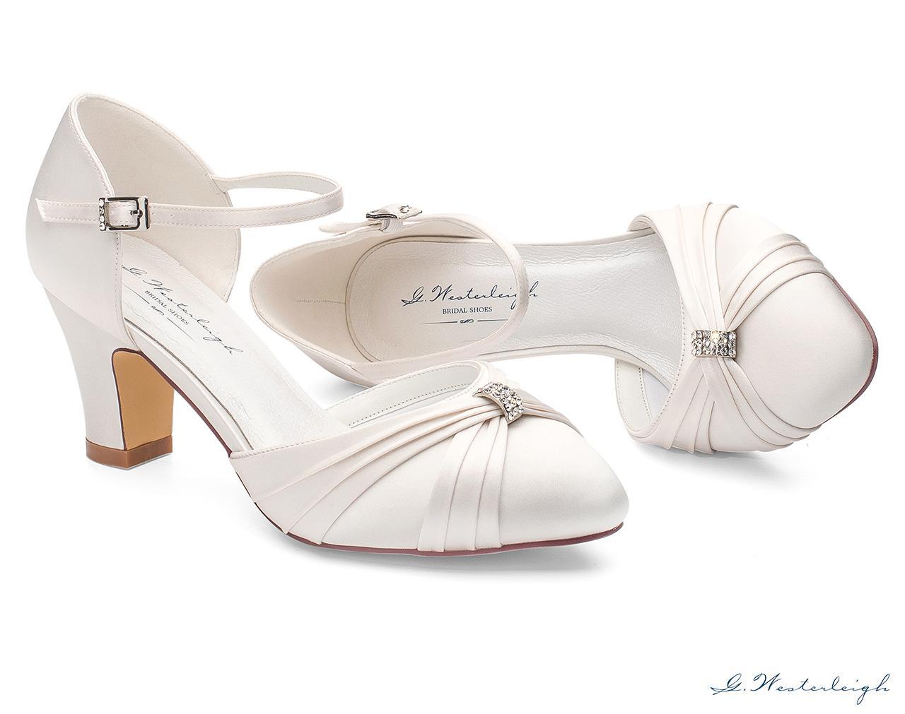 Svadobné topánky Luciana - Obrázok č. 2