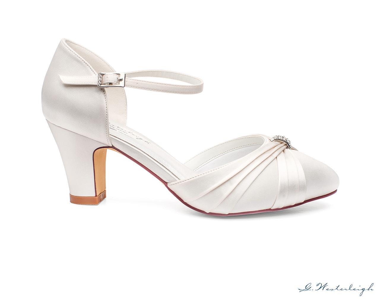 Svadobné topánky Luciana - Obrázok č. 3