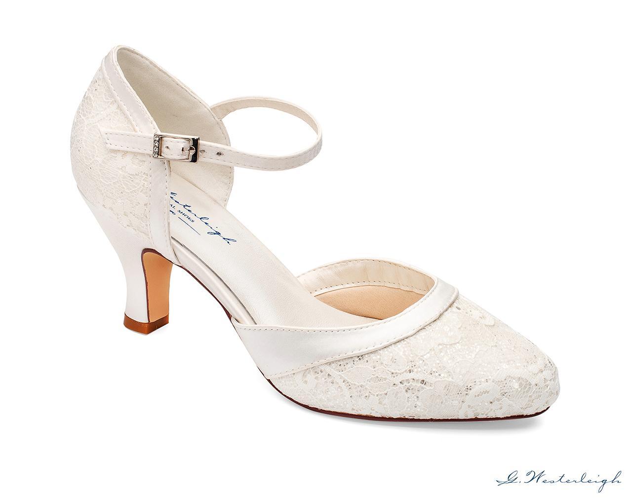 Svadobné topánky Maggie - Obrázok č. 1