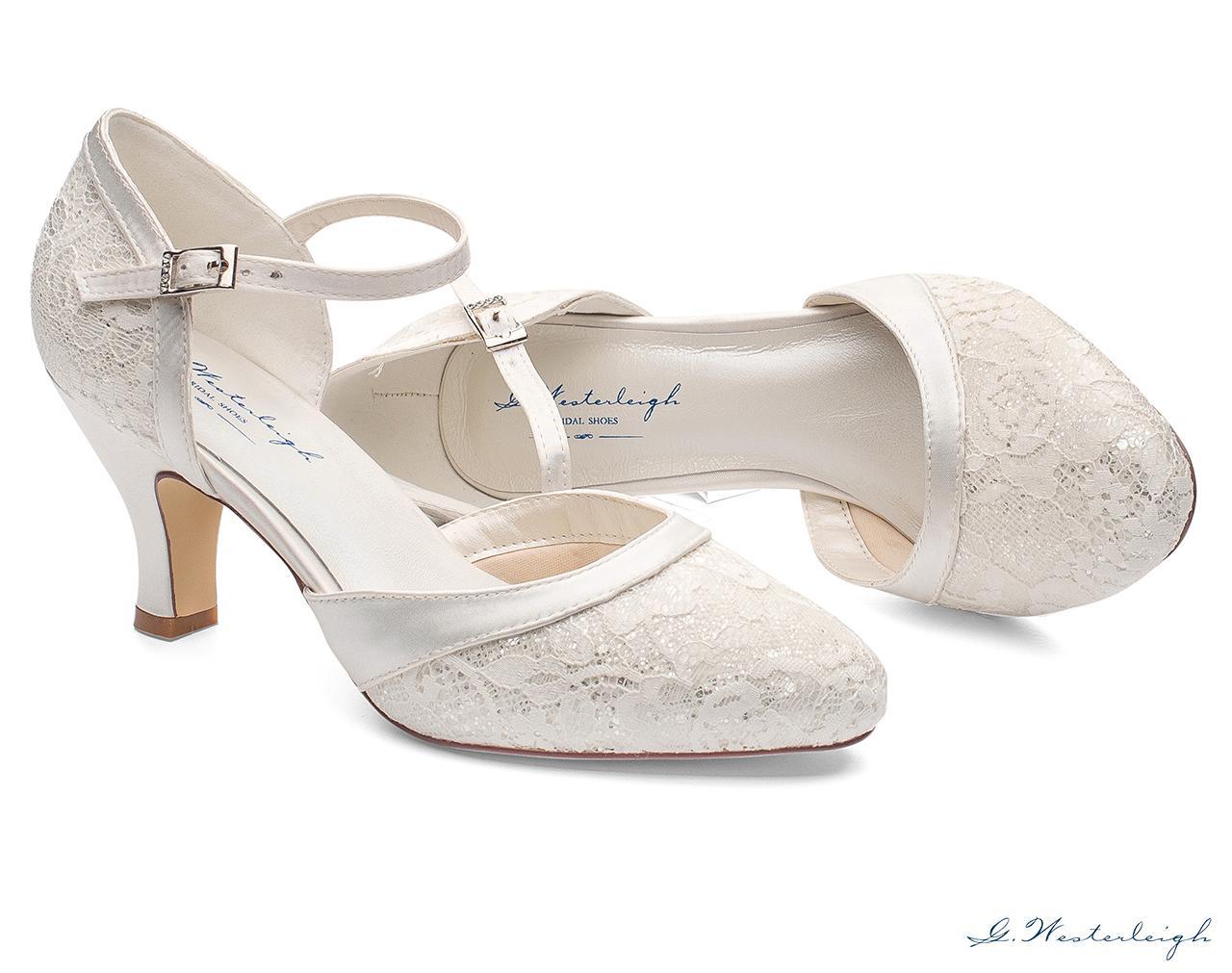 Svadobné topánky Maggie - Obrázok č. 2