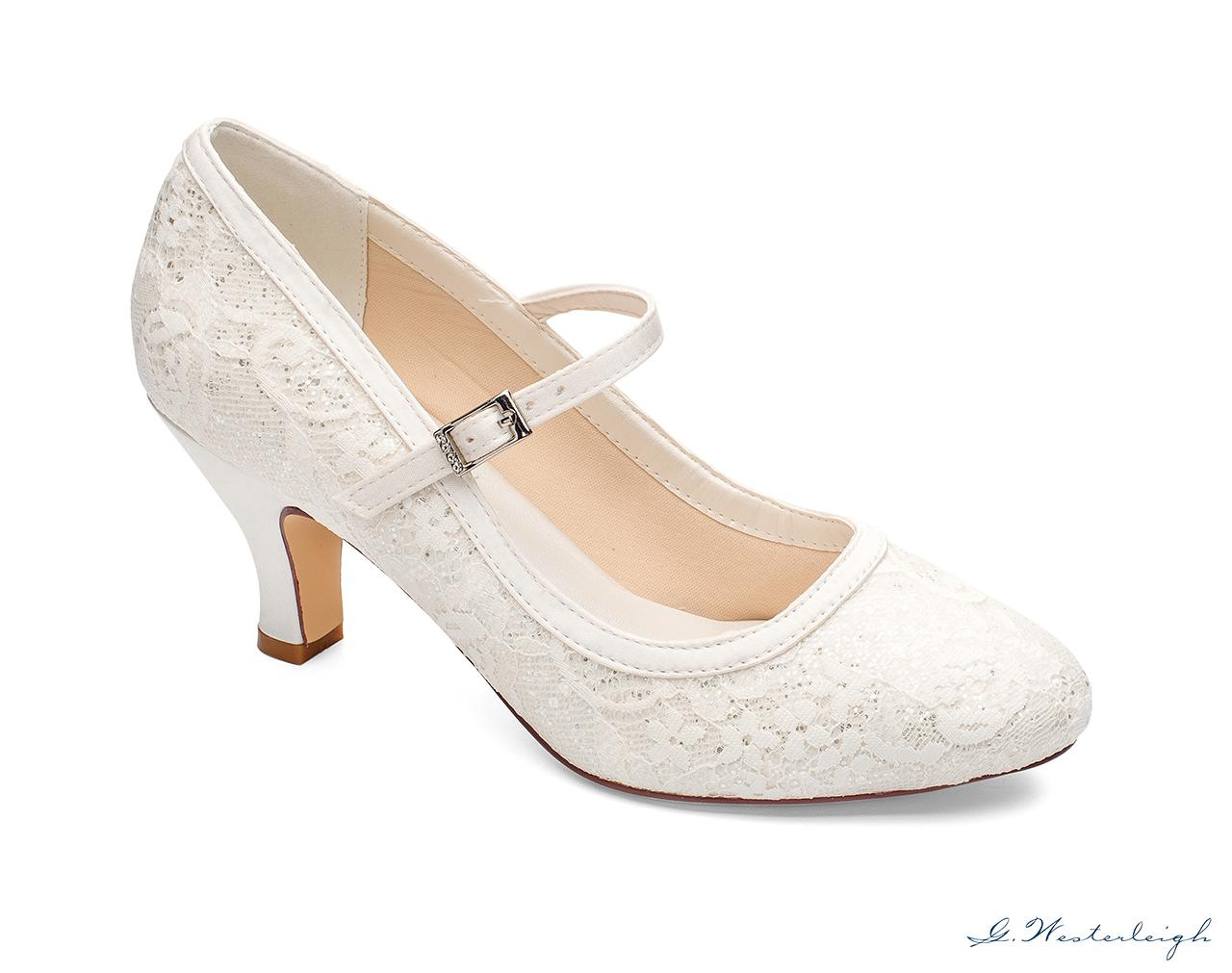Svadobné topánky Megan - Obrázok č. 1