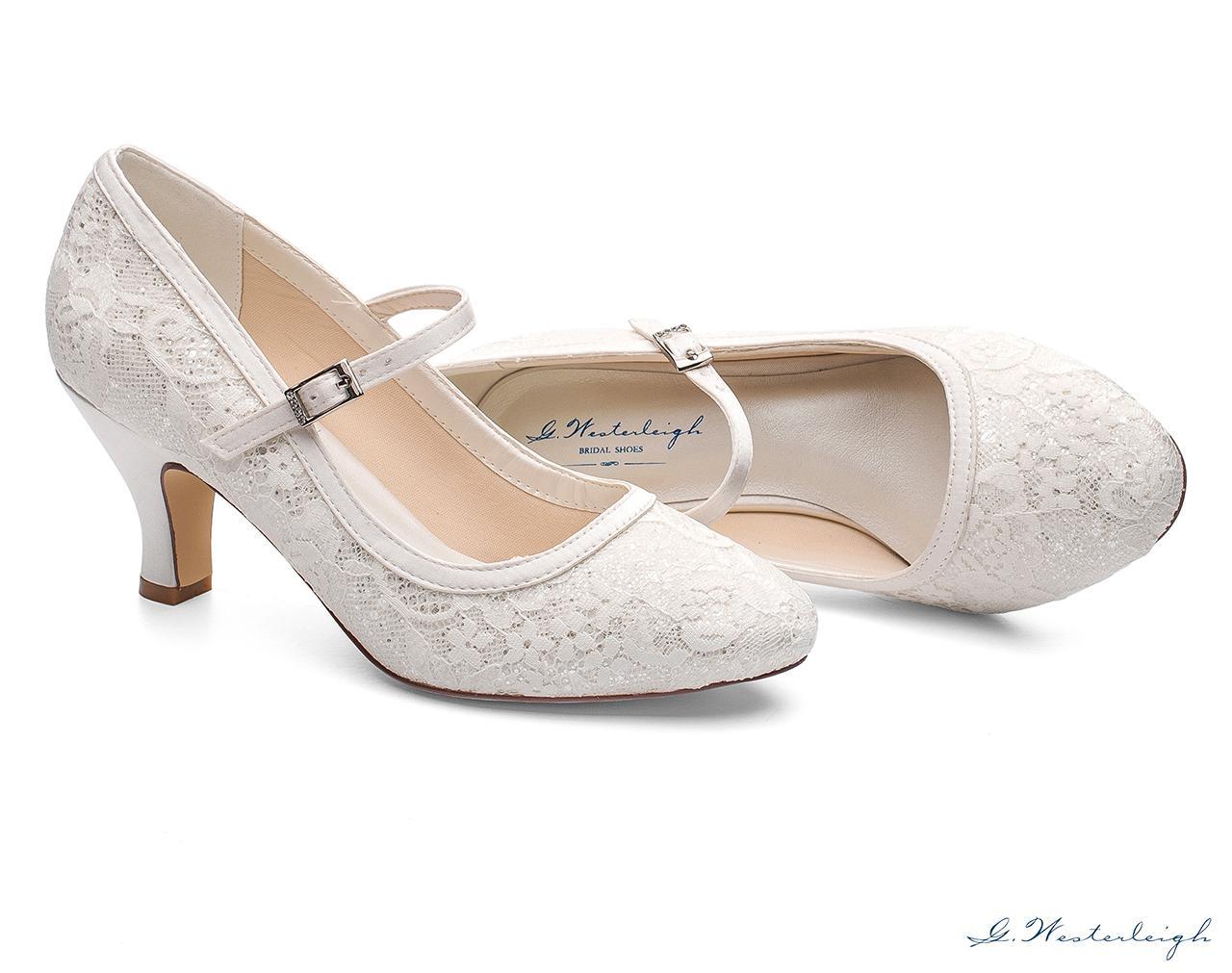 Svadobné topánky Megan - Obrázok č. 2