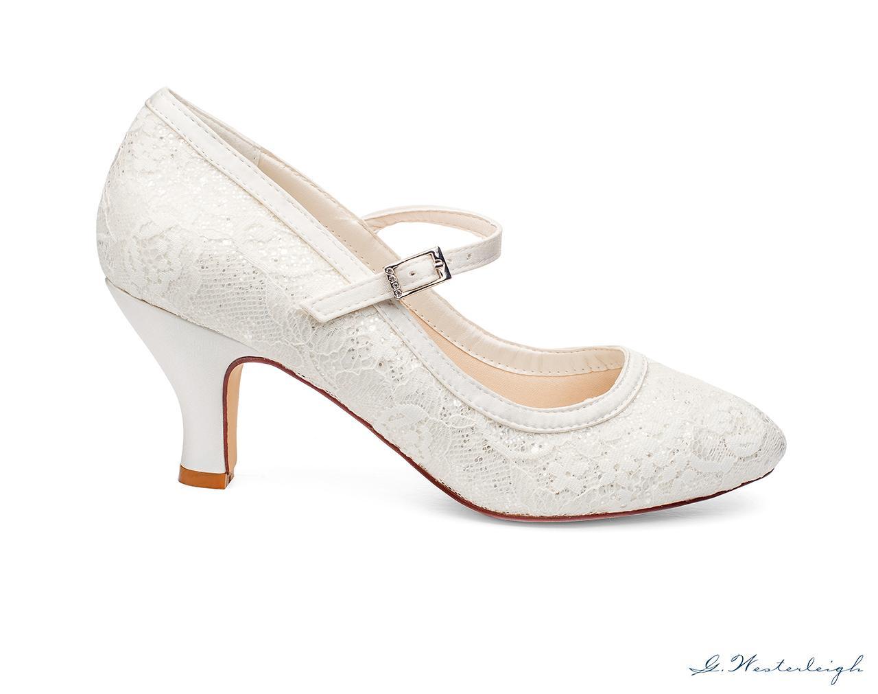 Svadobné topánky Megan - Obrázok č. 3