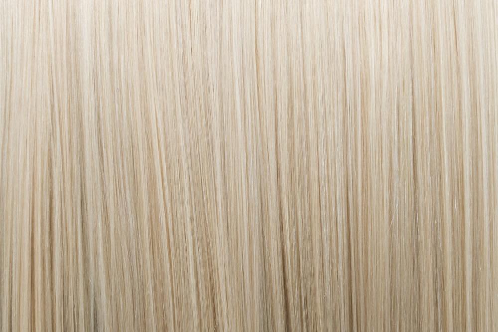 Ľudské Clip in vlasy Platinová blond 50cm - Obrázok č. 3