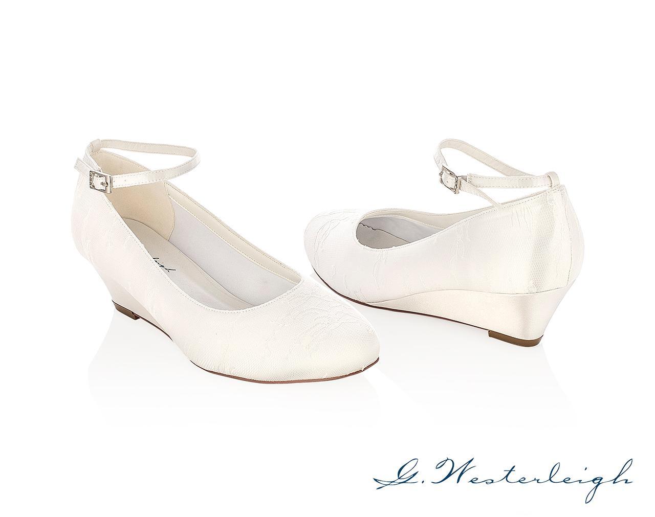 Svadobné topánky Iris - Obrázok č. 1