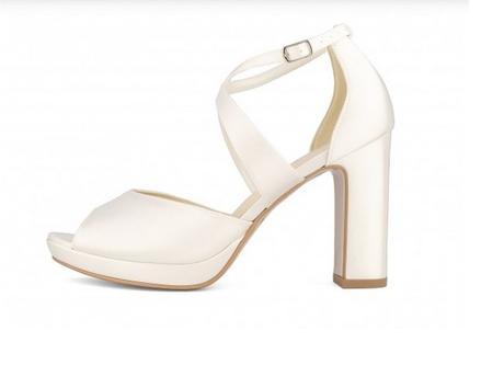 Svadobné topánky Cindy - Obrázok č. 1