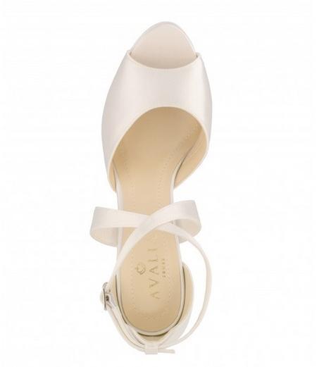 Svadobné topánky Cindy - Obrázok č. 2