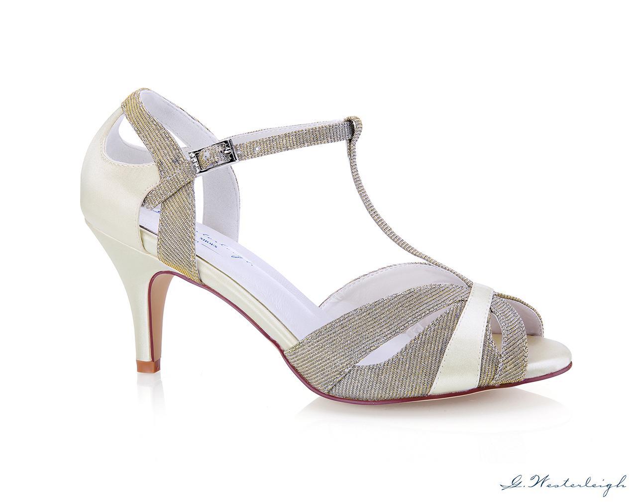 Svadobné topánky Corinne 2 - Obrázok č. 1