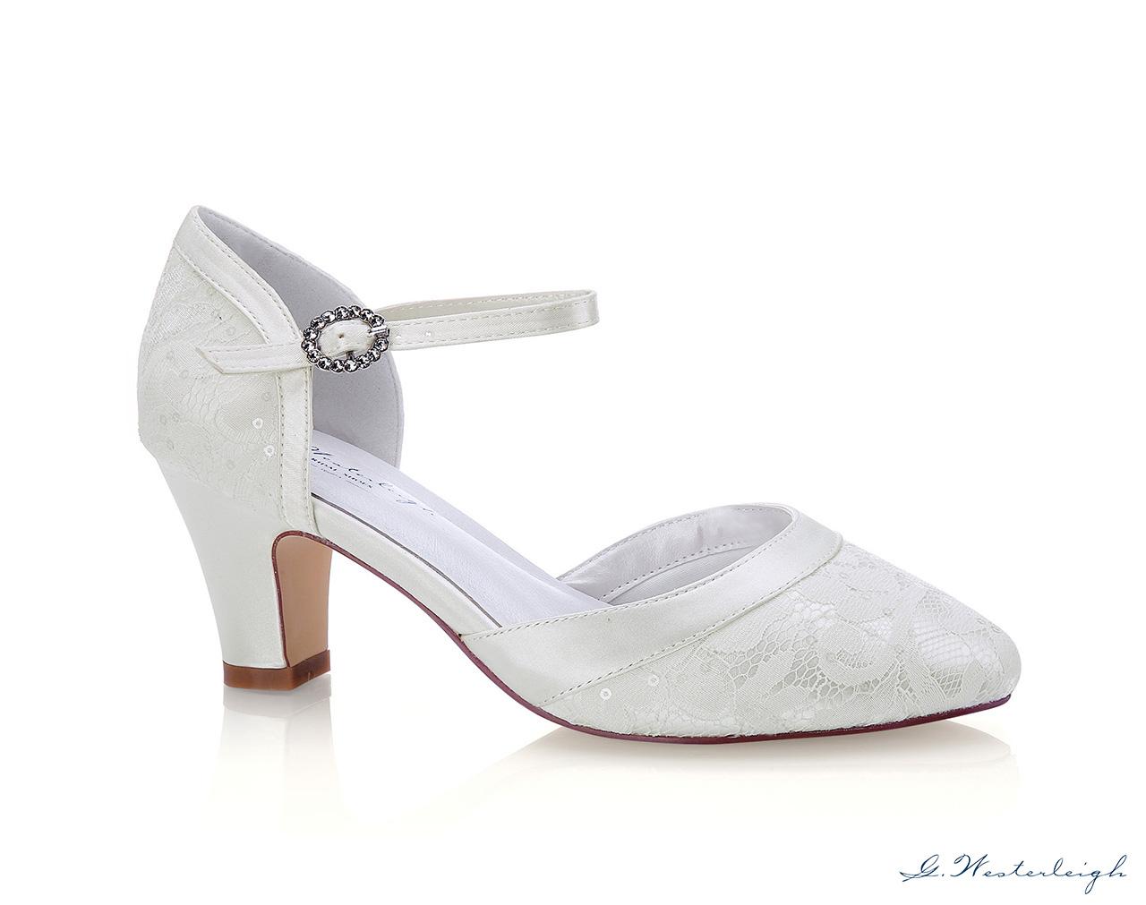 Svadobné topánky Livia - Obrázok č. 1