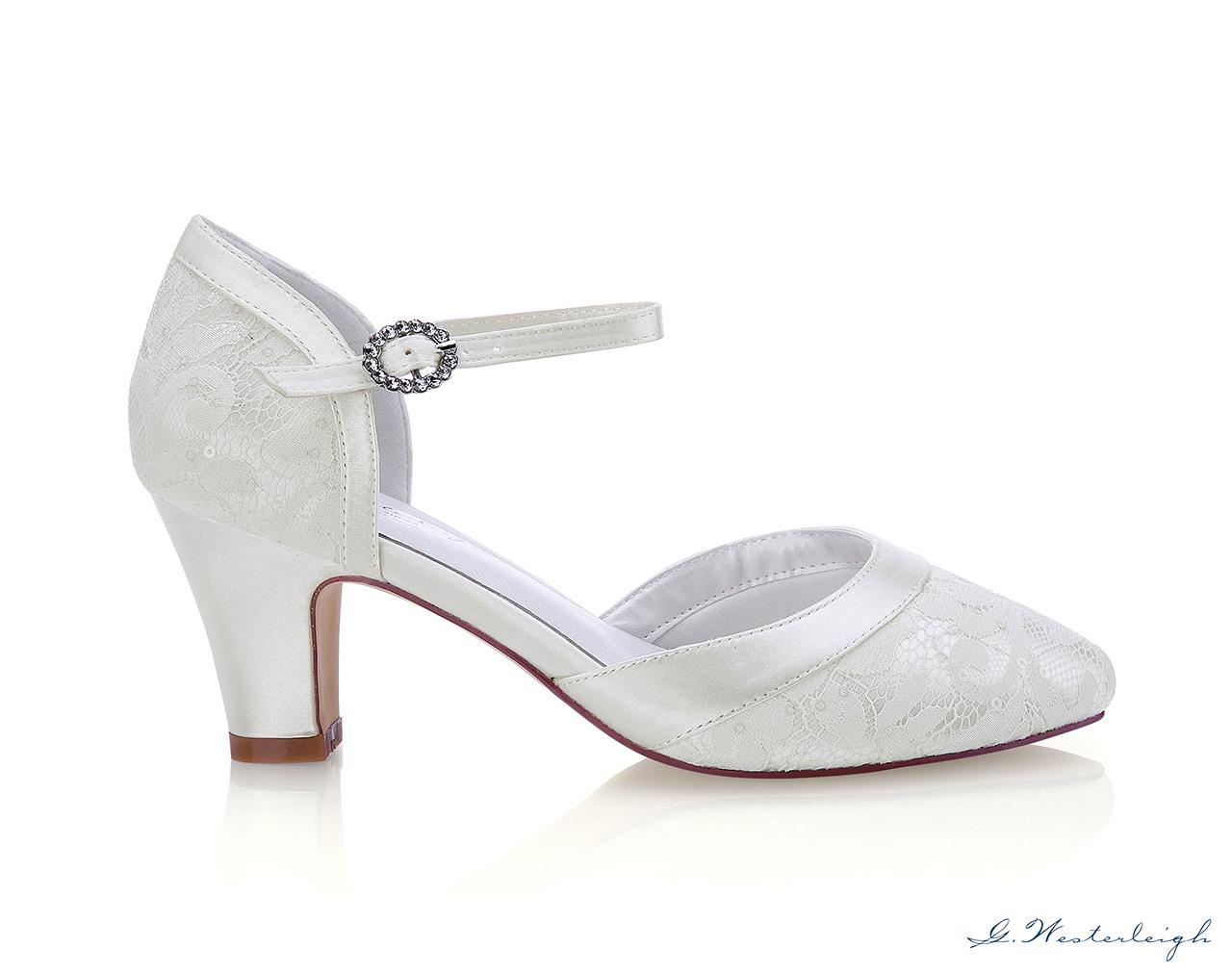 Svadobné topánky Livia - Obrázok č. 3