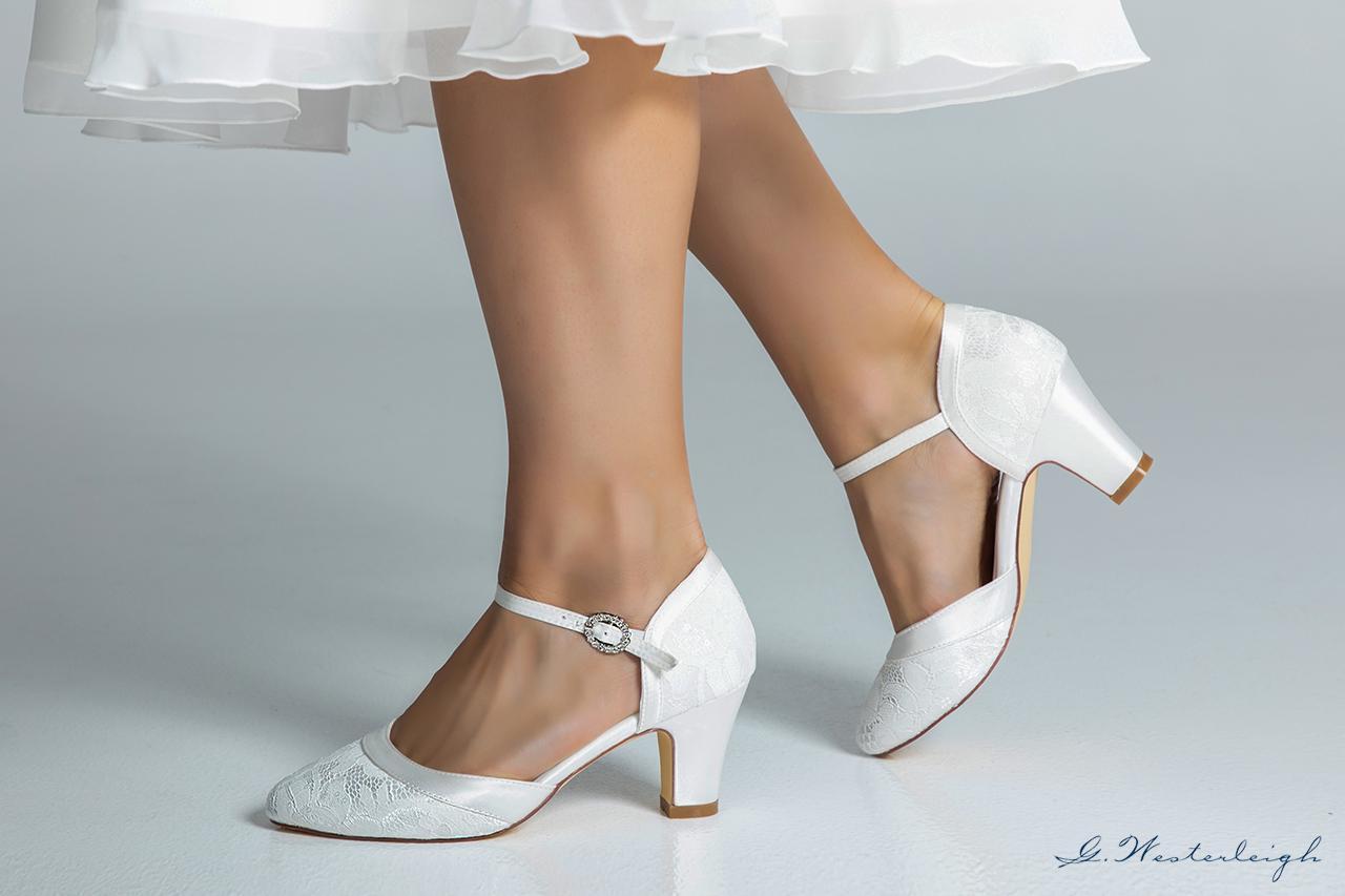 Svadobné topánky Livia - Obrázok č. 4