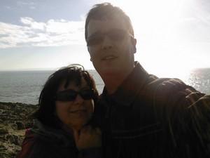 Peter a Silvia - Peťo a Silvia, Barry Island, South Wales