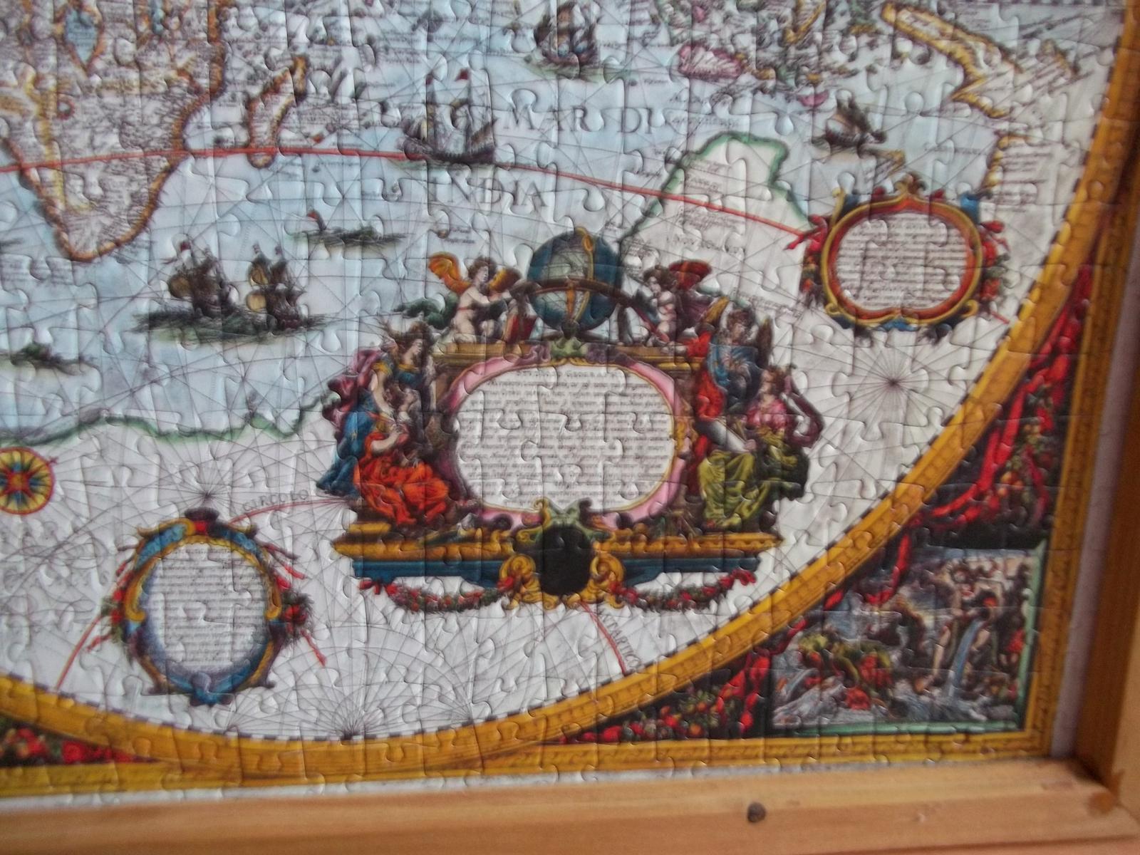 Puzzle zarámované - Obrázok č. 3