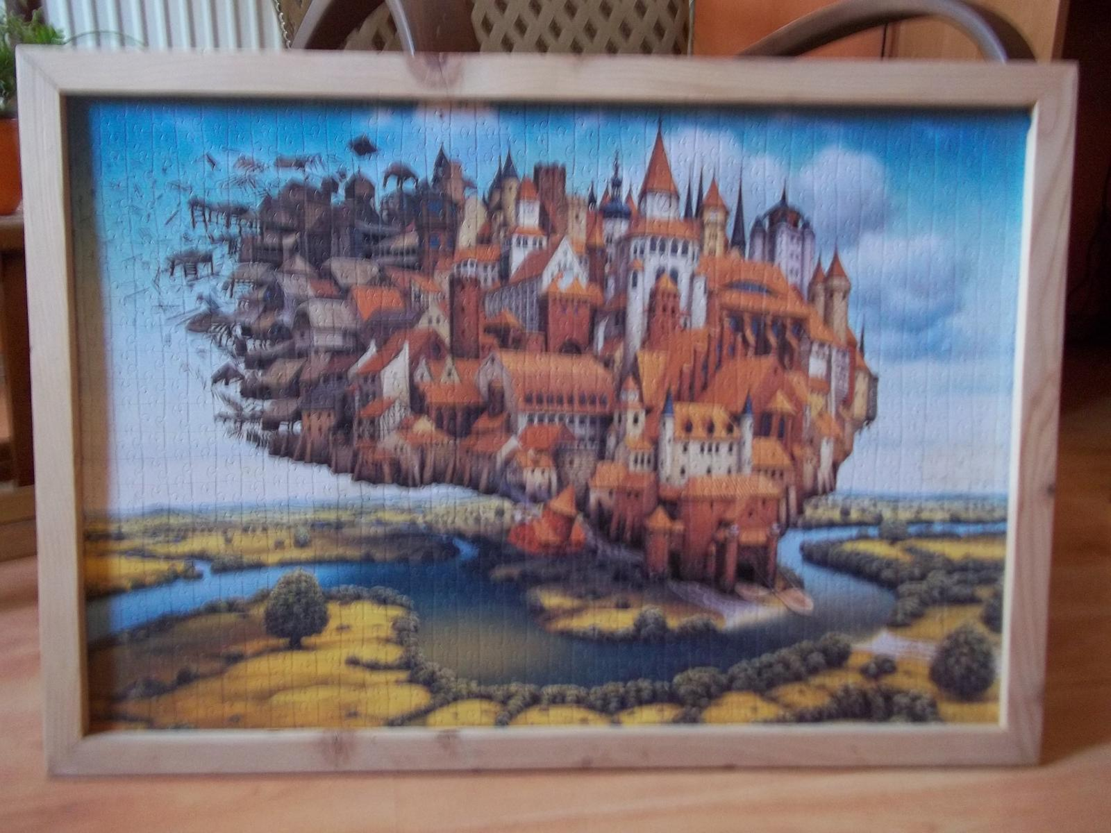 Puzzle zarámované - Obrázok č. 1