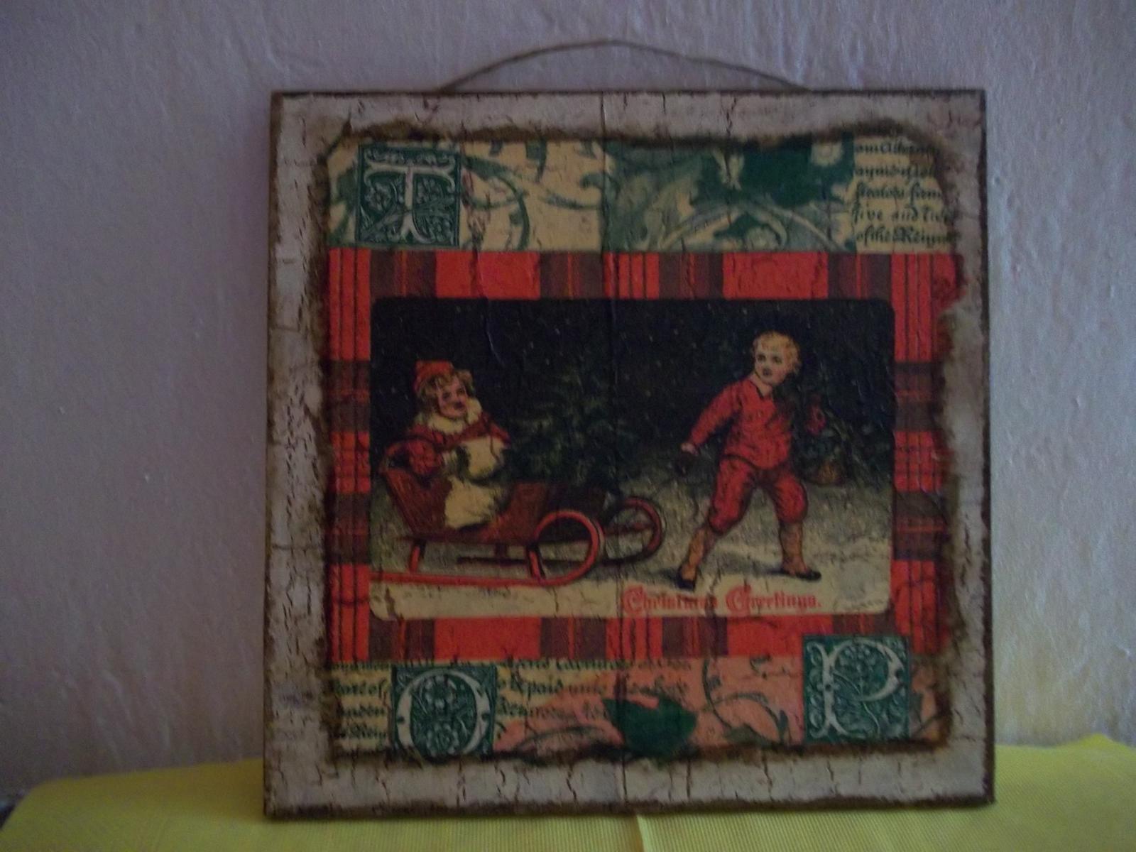 Obrázok v starožitnom vzhľade - Obrázok č. 1