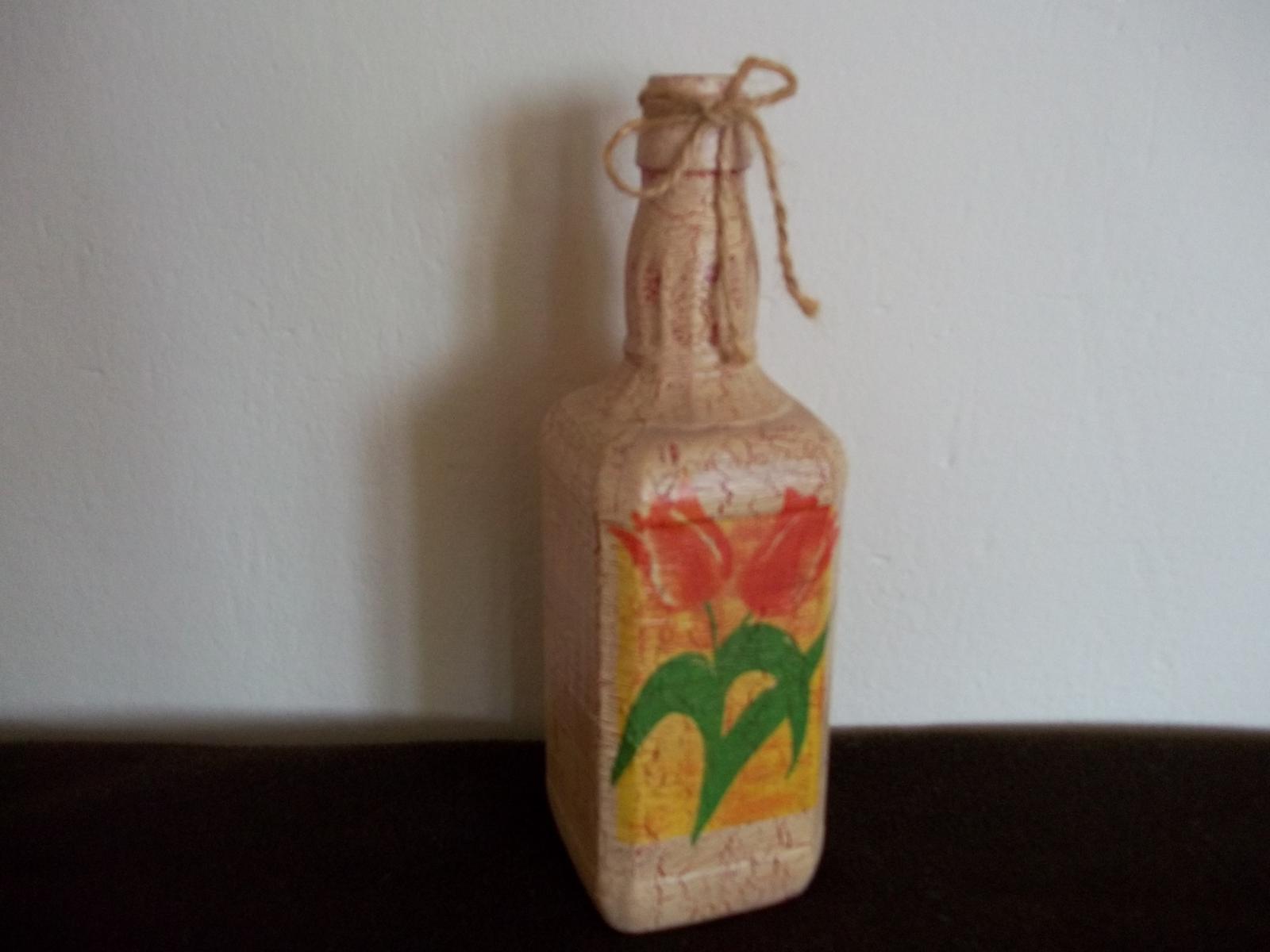 Dekoračná fľaša - Obrázok č. 1