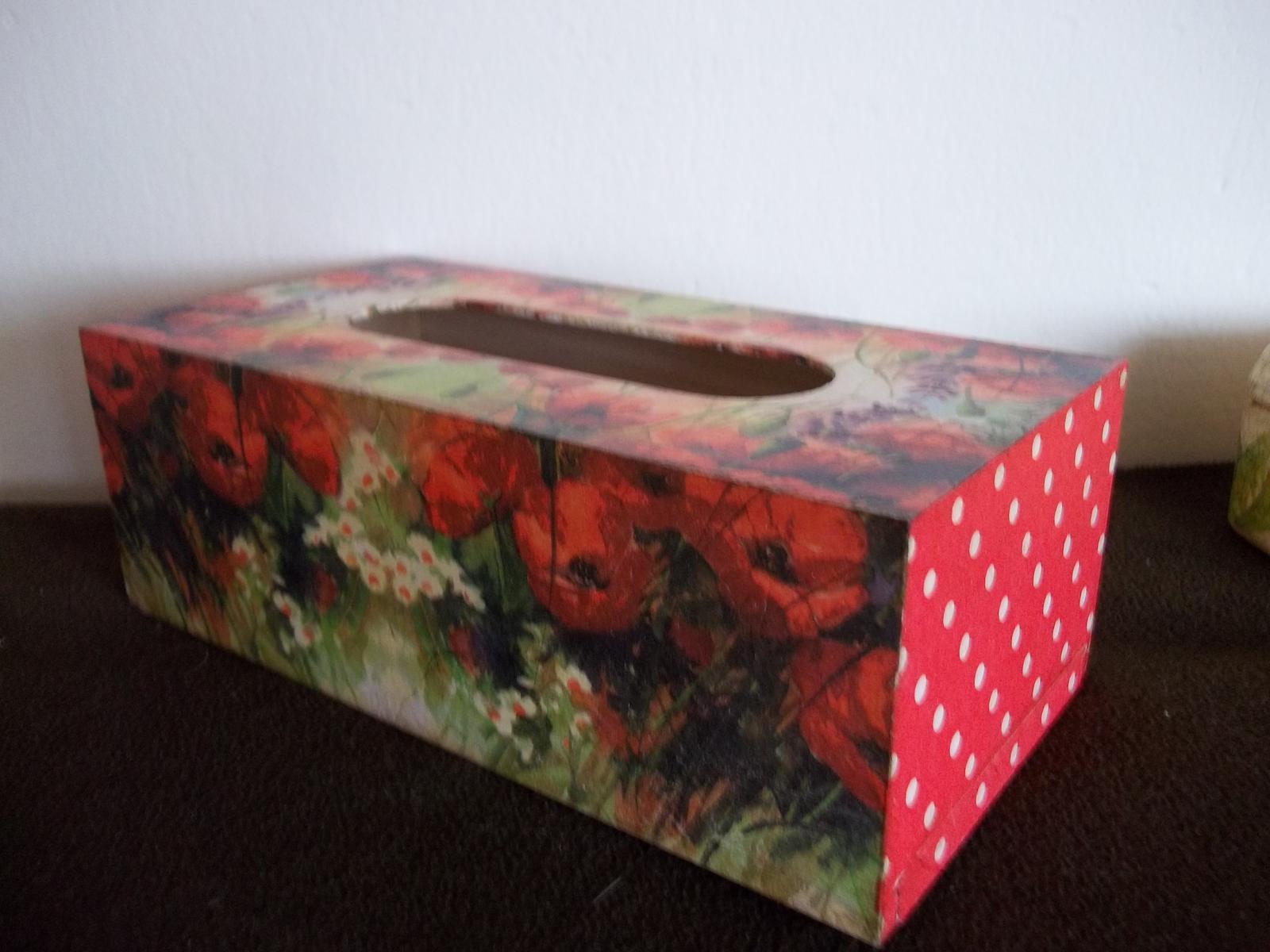 Drevená krabička na obrúsky - Obrázok č. 2
