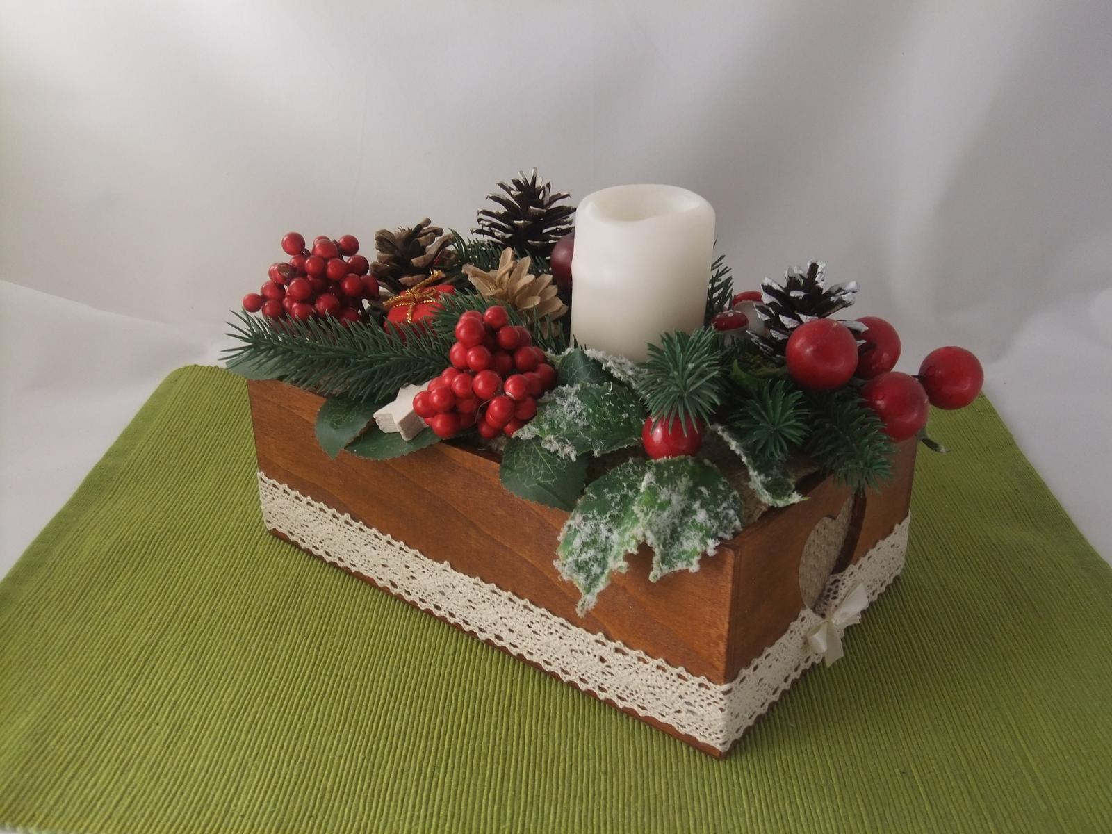 Vianočná, cena je vrátane poštovného - Obrázok č. 2
