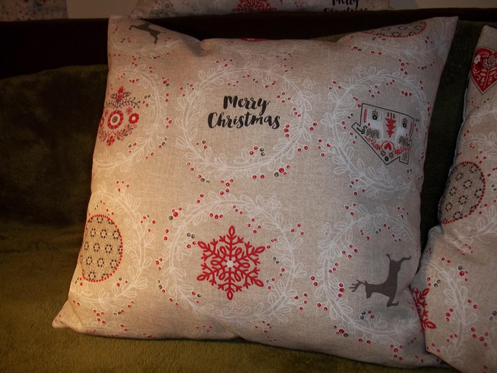 Sada 3 vianočných obliečok, v 2 veľkostiach,cena s poštou - Obrázok č. 2