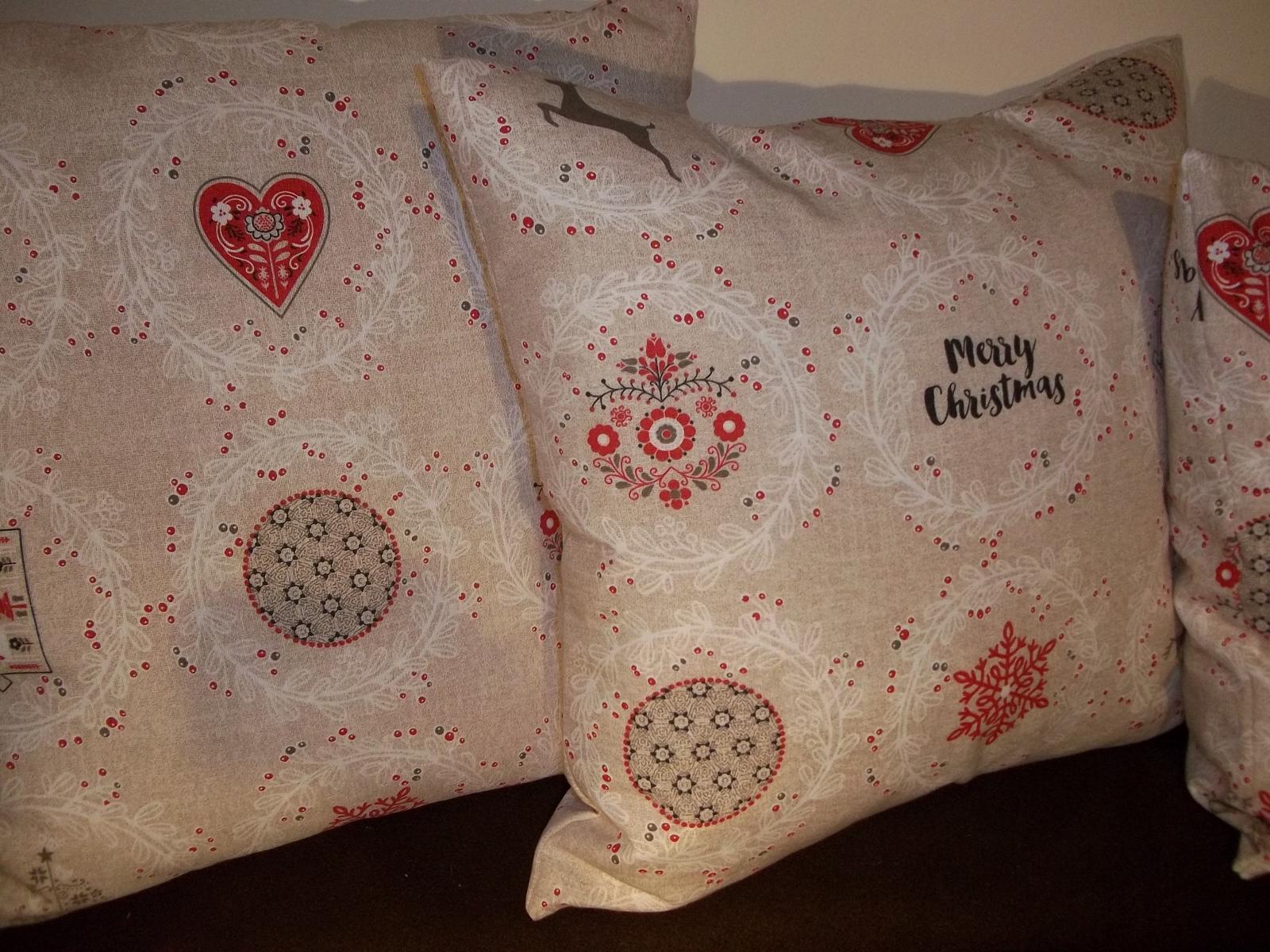 Sada 3 vianočných obliečok, v 2 veľkostiach,cena s poštou - Obrázok č. 4