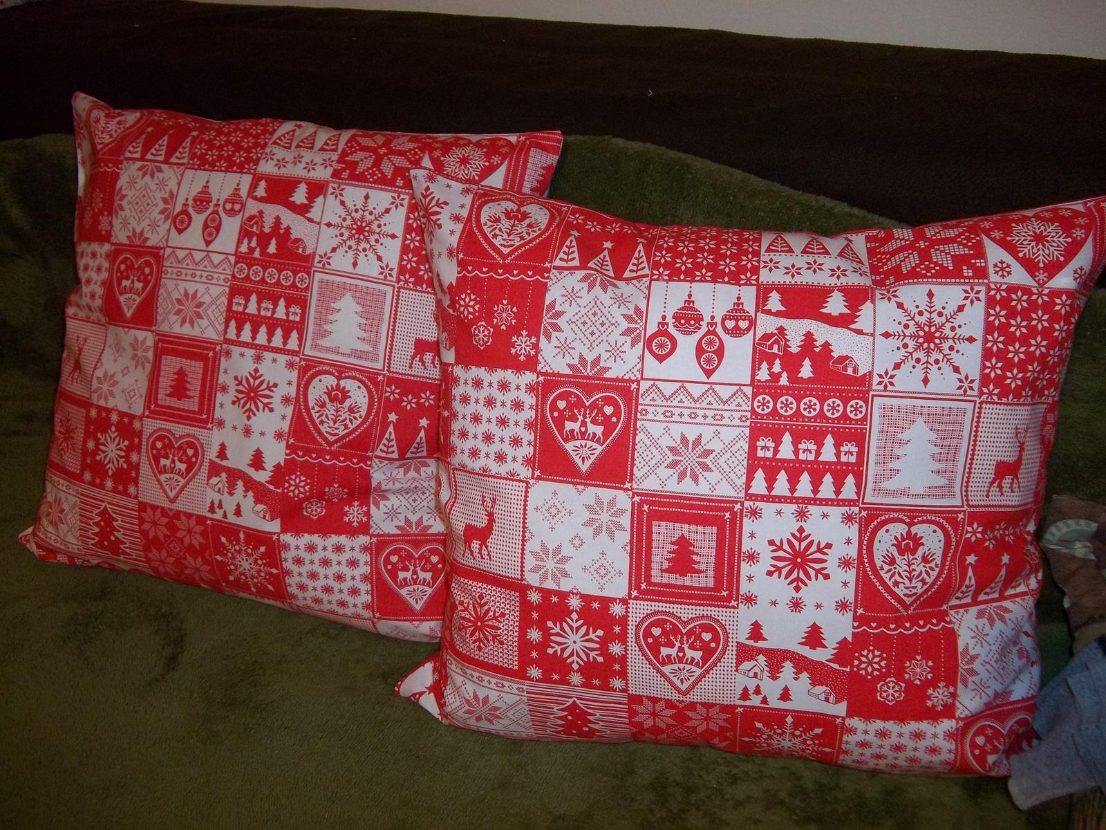 Sada dvoch väčších vianočných obliečok,cena s poštovným - Obrázok č. 4