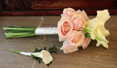 takúto by som chcela svadobnú kyticu, len s menšími úpravami