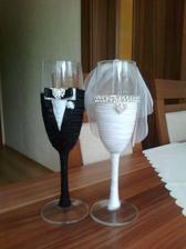 Naše svadobné poháre: made in mamina