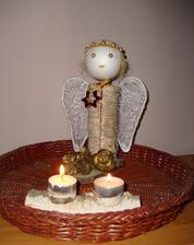 Anjelik z brezového pníka