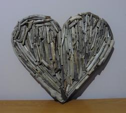 Srdce z vyplaveného dreva