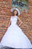 Elegantné svadobné šaty, 36