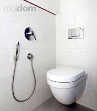Bidetovou sprchu už máme doma, bude vypadat podobně.