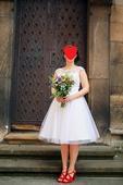 Tylové retro šaty, 40