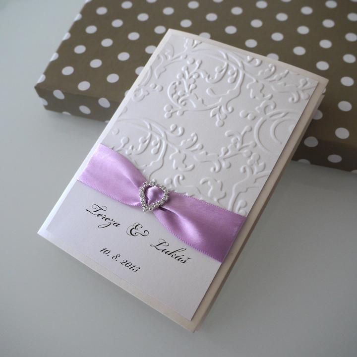956e37857ca Luxusní svatební oznámení -
