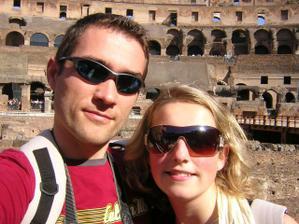 My dva letos na dovče v Římě:-)