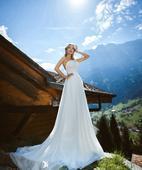 Svadobné šaty Amelie, 36