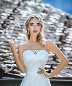 Svadobné šaty Amelie, 40