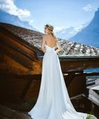Svadobné šaty Amelie, 44