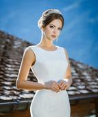Elegantné svadobné šaty, 44