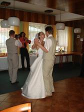 první společný manželský tanec