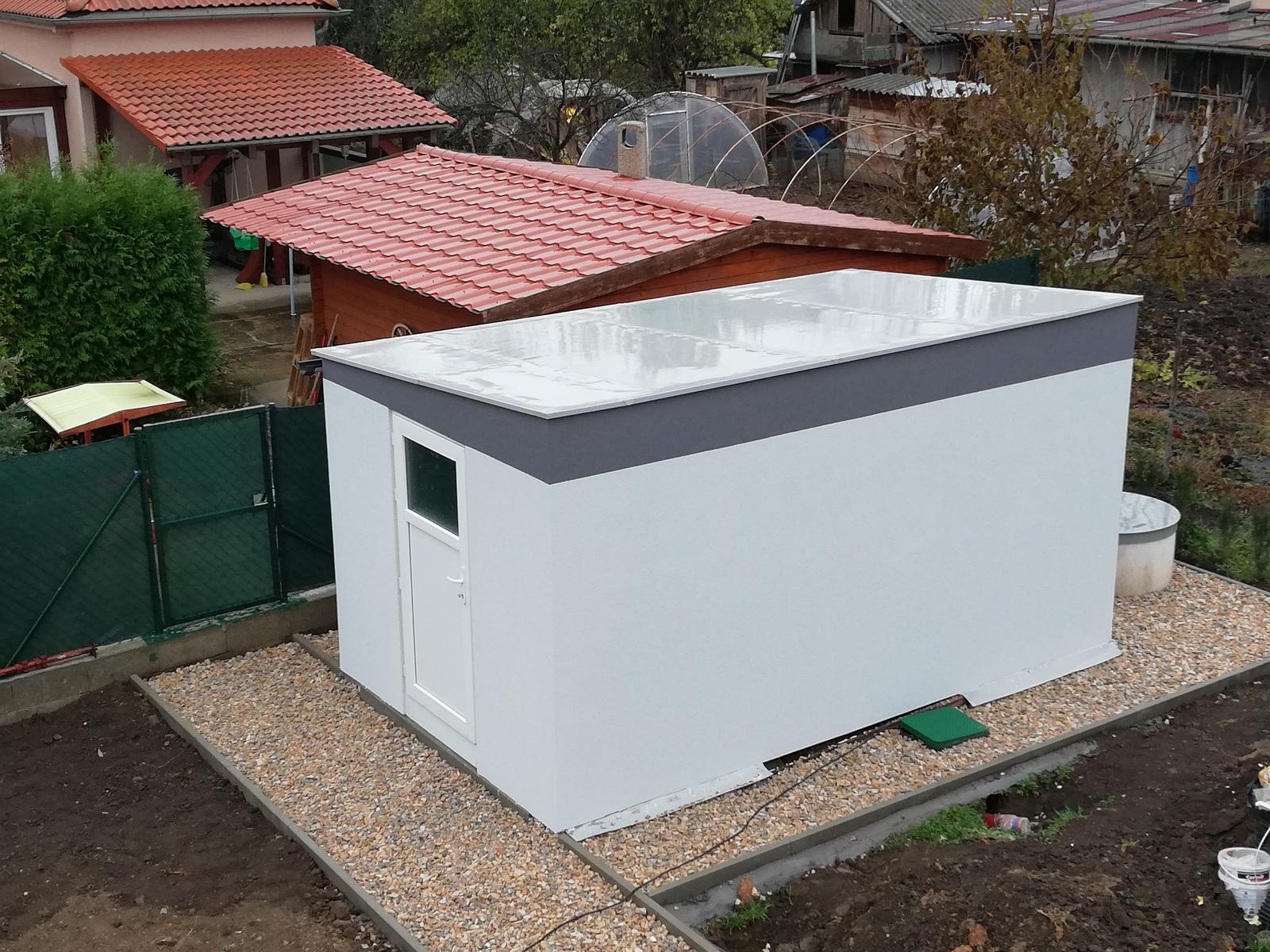 Záhradný domček do tisícky - Hotovo