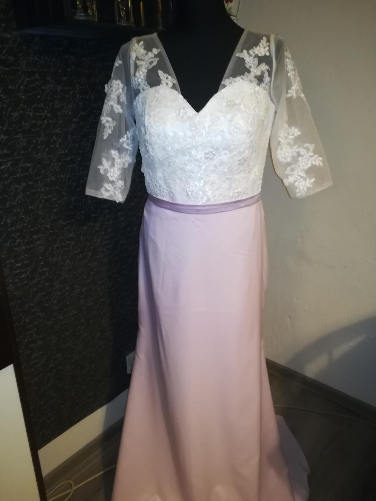 Svadobné ale aj spoločenské šaty - Obrázok č. 1